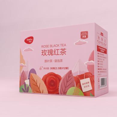 天優玫瑰紅茶(30克(2.5克x12))