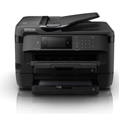 愛普生(EPSON)WF-7728 A4 A3+ 無線彩色噴墨多功能一體機 打印 復印 掃描 傳真 自動雙打(愛普生(EPSON)WF-7728 A4 A3+ 無線彩色噴墨多功)
