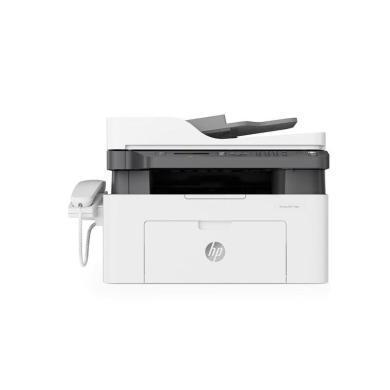 惠普(HP) Laser MFP 138pn黑白激光多功能一体机(打印复印扫描传真)(品牌:惠普幅面:A4功能:打印复印扫描传真连接方式:USB、有线型号:M138PN技术类型:黑白)