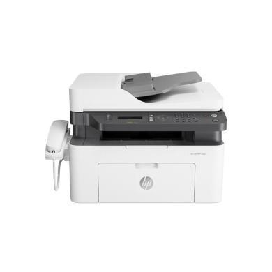 惠普(HP) Laser MFP 133pn黑白激光多功能一体机(打印复印扫描传真)(品牌:惠普幅面:A4功能:打印复印扫描传真连接方式:有线型号:M133PN技术类型:黑白激光)