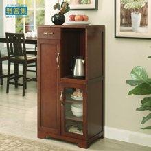 【餐柜 茶水柜】雅客集斯蒂芬妮美式全实木收纳柜WN-16076WA