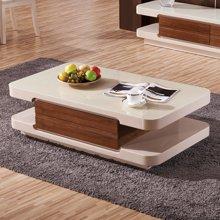 皇家爱慕现代简约客厅钢化玻璃茶几烤漆时尚茶桌993
