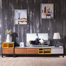 皇家爱慕现代简约客厅钢化玻璃电视柜1022