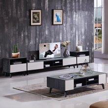 皇家爱慕现代简约客厅钢化玻璃电视柜2028