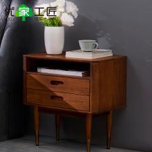 优家工匠全?#30340;?#24202;头柜北欧现代轻奢卧室床头储物柜抽屉收纳置物环保柜