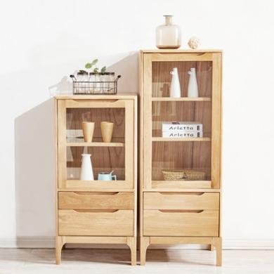 全實木酒柜客廳電視柜組合柜現代簡約收納柜邊柜抽屜儲物柜