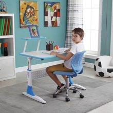 雅客集智慧之星附书架儿童成长书桌椅套装(蓝色)PA-15032BU