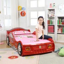 雅客集洛克红色车仔儿童床WN-14142 可爱卡通人气单人汽车床