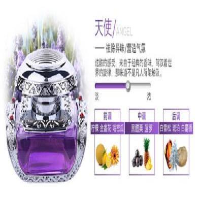 UUINE 新款汽車香水座時尚鑲鉆車用香擺件車載除異味香水車內飾品