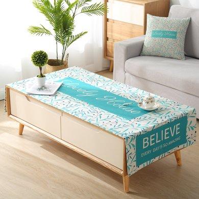 北歐ins茶幾蓋布長方形客廳餐桌布藝臺布現代簡約棉麻小清新蓋巾
