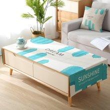北欧ins茶几盖布长方形客厅餐桌布艺台布现代简约棉麻小清新盖巾