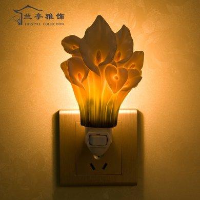 蘭亭雅飾馬蹄蘭小夜燈LT-15015