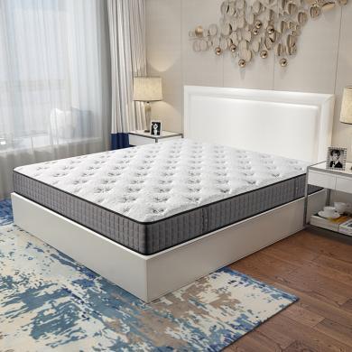 HJMM独立弹簧床垫乳胶床垫软硬适中
