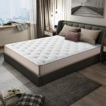 HJMM天然乳胶床垫 独立袋装弹簧床垫 环保棕垫 软硬双面