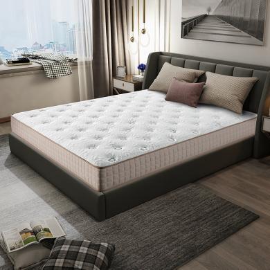 HJMM天然乳膠床墊 獨立袋裝彈簧床墊 環保棕墊 軟硬雙面