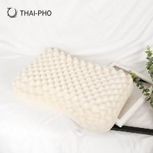 优家工匠直采(THAI-PHO泰凰)乳胶枕泰国原装进口纯天然美容spa枕芯橡胶枕头