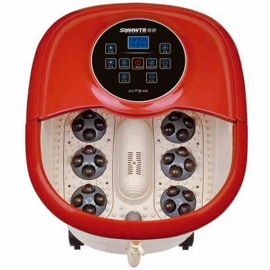 港德足浴盆 全自動洗腳盆電動按摩加熱足浴器恒溫泡腳桶足療機深桶全自動加熱洗腳盆泡腳盆足浴器RD-F655