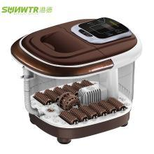 港德足浴盆 全自動洗腳盆電動按摩器加熱恒溫泡腳桶深桶足療機家用