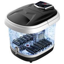 港德足浴盆 泡腳器自助按摩洗腳盆電動加熱泡腳桶家用恒溫深桶足療機
