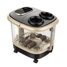 港德足浴盆全自動洗腳盆電動按摩加熱泡腳桶恒溫深桶家用足療機