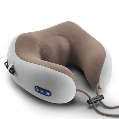 港德按摩器頸椎按摩器頸部腰部肩部按摩電動旅行U型頸枕護頸儀
