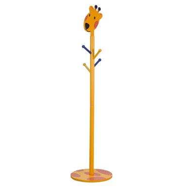 【实木卡通动物造型】雅客集长颈鹿儿童衣帽架WN-15013