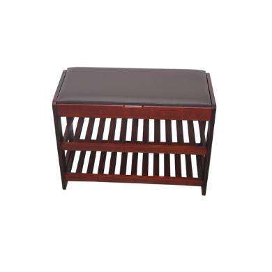 家立佳(Familove) 實木坐墊換鞋凳 FLEJ-5028
