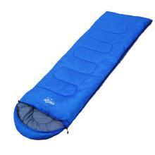 卡饰得 夏秋户外睡袋 信封式中空棉袋 防水 被子 地垫 露营被 1.1KG