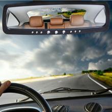 卡飾得 汽車室內鏡 DAD 時尚帶鉆 高品質后視鏡 大視野鏡