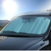 卡饰得 汽车遮阳档 140*70cm 太阳档 气泡铝箔防晒隔热 车用遮光板 前挡 大款