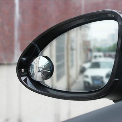 卡飾得 倒車輔助鏡 車用小圓鏡 360度旋轉小圓鏡 后視鏡 無邊框倒車鏡 廣角鏡