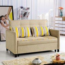 皇家爱慕简约小户型布艺沙发 时尚沙发床
