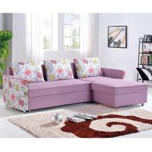 皇家爱慕小户型转角 可拆洗 布艺沙发 沙发床折叠床 双人床 沙发