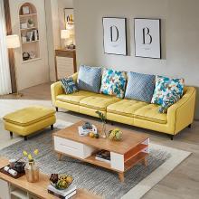 皇家愛慕真皮沙發頭層牛皮簡約現代轉角組合客廳時尚皮藝沙發