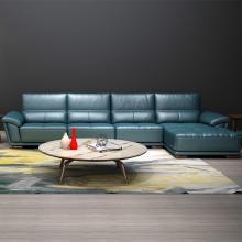HJMM时尚北欧真皮沙发现代极简头层牛皮沙发大小户型F1