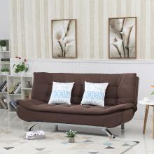 雅客集尤蘭達休閑沙發FB-18081BR 布藝兩用沙發床 辦公室客廳沙發