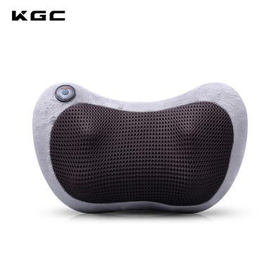 KGC/卡杰詩車載家用按摩器多功能頸椎頸部按摩枕全身適用熱敷靜音按摩墊