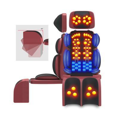 新品2019按摩墊頸部腰部肩部全身多功能振動揉捏頸椎背部電動家用椅墊