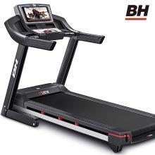 歐洲BH必艾奇跑步機 家用款彩屏電動超靜音減震健身房專用器械BT7218MAX