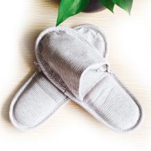 针织拖鞋天竺棉居家折叠拖鞋便携带旅行必备