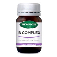 【海外直邮】新西兰Thompsons汤普森VB复合维生素B片 抵抗疲劳 降压力 改善睡眠 100片/瓶*1瓶装