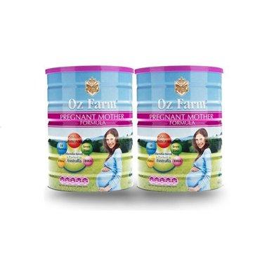 2罐*澳洲澳美滋孕婦奶粉Oz Farm孕婦孕期哺乳期營養奶粉900g【香港直郵】