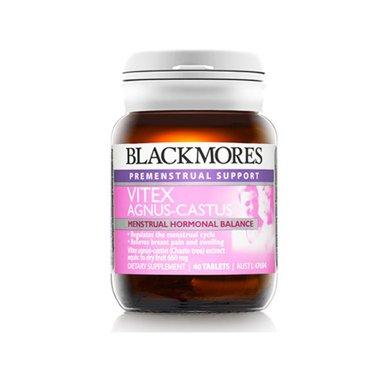【香港直�]】澳洲澳佳��圣��莓片Blackmores圣��莓精�A片 平衡�确置谡{理�期40粒*1瓶