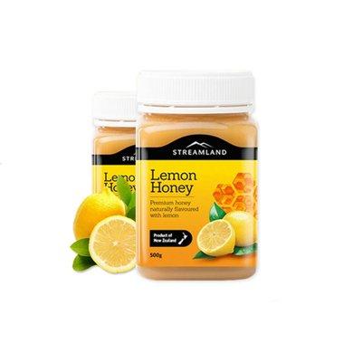 2罐*澳洲新溪�u蜂蜜Streamland��檬蜂蜜500g【海外直�]】