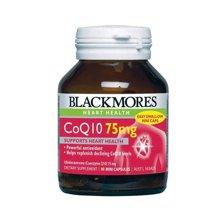 【海外直邮】(支持心脏健康)澳洲Blackmores澳佳宝辅酶Q10心脏宝75 mg 90粒*1瓶装