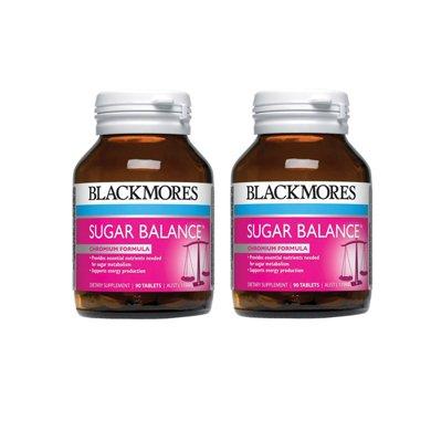 2瓶*澳洲Blackmores血糖平衡片90粒【海外直�]】