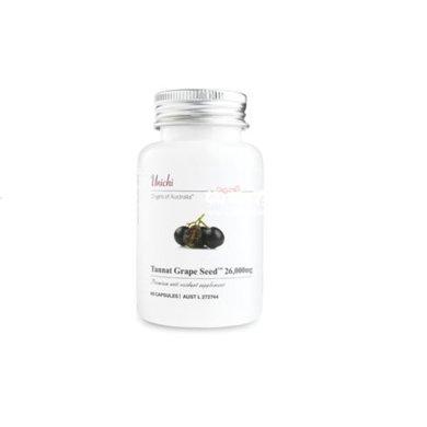 【海外直郵】澳洲unichi優弛葡萄籽精華膠囊60粒*1瓶裝