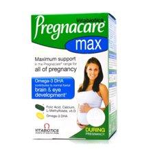 【英国】Vitabiotics薇塔贝尔哺乳期营养包 女士孕期复合营养片+DHA鱼油 84粒/盒