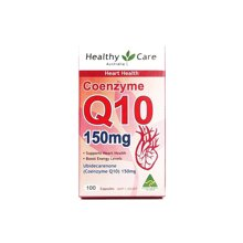 【香港直郵】澳洲Healthy Care 輔酶Q10膠囊150mg 100粒*1瓶裝