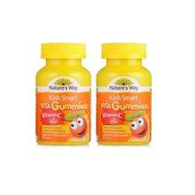【2瓶装】澳洲直邮 澳大利亚Nature's Way佳思敏 Kids Smart儿童维生素c+锌软糖 60粒